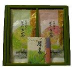 園主の謹製 特上そのぎ茶【秀緑】100g2本セット