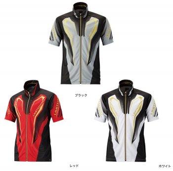 シマノ WT−℃・フルジップ リミテッドプロシャツ(半袖) SH-012R