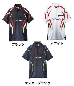 ダイワ スペシャル アイスドライ ジップアップ半袖メッシュシャツ DE-7107