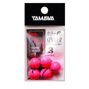 ヤマワ カラーシンカー ライトピンク