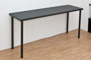 TY-1545BK(2.3)フリーテーブル 150幅 奥行き45 ブラック(代引不可) (並行輸入品)