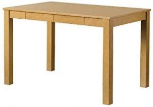 ダイニングテーブル 引出し付木製 110cm幅 ナチュラル VGL-25NA