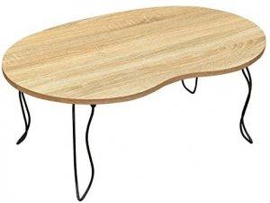 BIANCAビーンズテーブル 折りたたみテーブル ミニテーブル ナチュラル JK-10NA