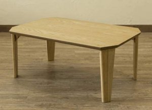 折畳みテーブル Rosslea75 75×50cm UHR-75 折りたたみテーブル ローテーブル (ナチュラル)