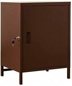 DELIO 宅配ボックス 大容量 1ドア 個人宅 80L ブラウン JAC-50BR
