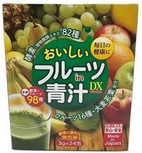 おいしいフルーツin青汁デラックス 酵素82種フルーツ16種 大麦若葉配合