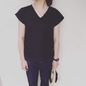 French Linen Simple Blouse��Ladies
