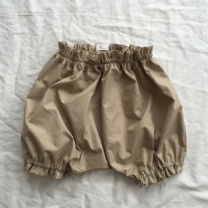 Cotton typewriter  bloomers*lingt baige