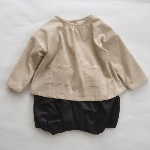 corduroy  blouse  heather beige