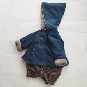 Onibegie hooded coat
