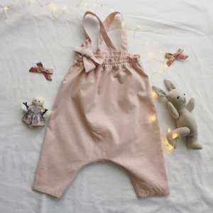baby salopetto *corduroy pink