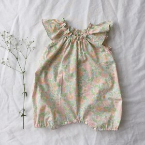 Frill sleeve  Rompers*Betsy