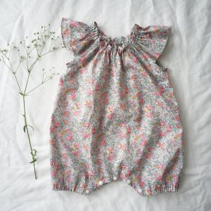 Frill sleeve  Rompers*Claire-Aude