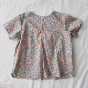 Front Tuck blouse *Ballons*100