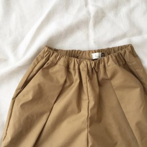 Typewriter Tuck Pants*beige