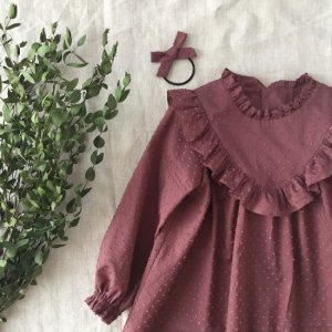 Frill dress  fig