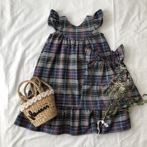 Birthday dress*Madras Check