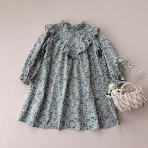 liberty print Frill dress