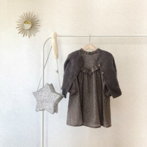 Frill dress  twinkle star