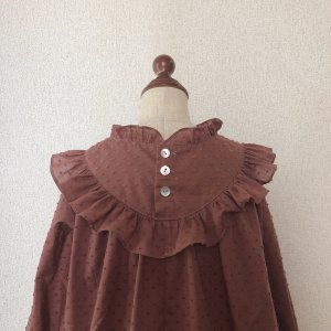 Frill blouse*fig