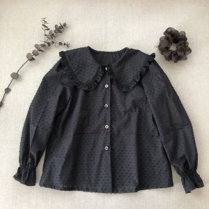 Big coller blouse