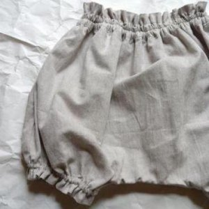 dungaree bloomers*beige