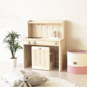 (名入れOK) ままごとキッチン Ange60デスクチェアセット