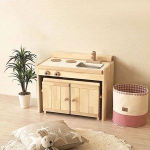 (名入れOK) 木製 ままごとキッチン &デスク 【C600タイプ】