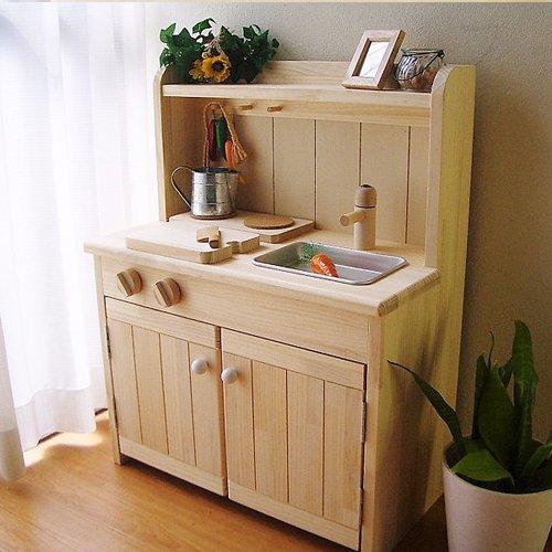 木製ままごとキッチン【F600タイプ】