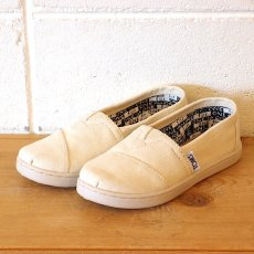 TOMS  Natural Canvas Youth Classics