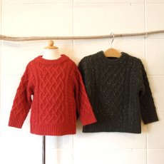 <img class='new_mark_img1' src='//img.shop-pro.jp/img/new/icons24.gif' style='border:none;display:inline;margin:0px;padding:0px;width:auto;' />Ocean & Ground / ARAN SWEATER
