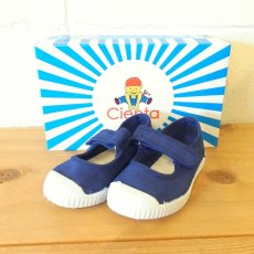 VELCRO ONE STRAP SHOES / AZUL (ネイビー)