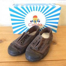VELOUR DECK SHOES /  CUERDA  (ブラウン)