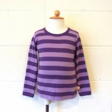 BORDER L/S TEE / PURPUL・LT.PURPUL