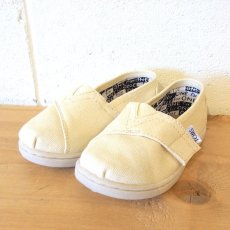 TOMS Natural Canvas Tiny Classics