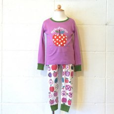 L/S PAJAMAS / ORCHARD APPLES