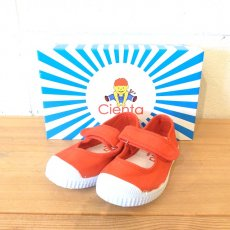 VELCRO ONE STRAP SHOES / ROJO (レッドD)