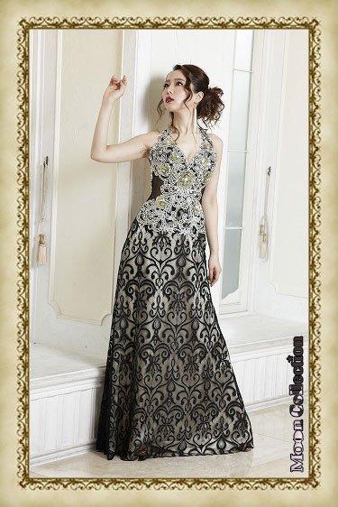 15014 大人オーラマックス高級感装飾ドレス♪ リュクススタイル アリス
