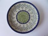 丸皿22cm      『夏草の花かご』