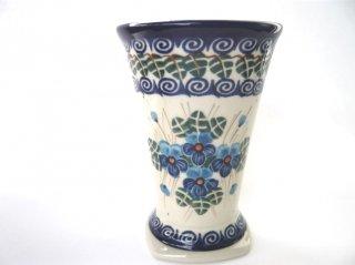 ポーランド食器(ポーリッシュポタリー)フリーカップ 『ラインダンス』