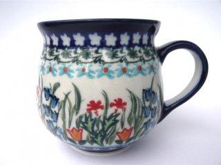 ポーランド食器(ポーリッシュポタリー)ベリーカップM   『ガーデンパーティー』