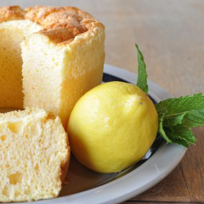 【夏季限定】ソルトレモンのシフォンケーキ