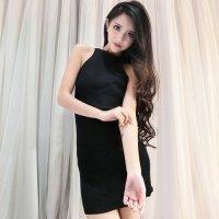 【春分フェア☆第2弾】前後どちらでも着用可能に作られた編み上げがセクシーな2WAYボディコンワンピース風セクシードレス(SEXYDRESS) ブラック