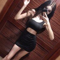 【サマーフェスタ☆全品20%OFF】ワンショルダーとウエストカットで露出度をアップさせたボディコンシャスなドレス(CABARETDRESS) ブラック