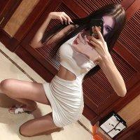 【サマーフェスタ☆全品20%OFF】ワンショルダーとウエストカットで露出度をアップさせたボディコンシャスなドレス(CABARETDRESS) ホワイト