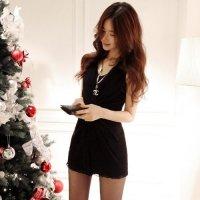 【全品20%OFF!☆ウィークエンドフェア】ふんわり柔らかなメッシュシフォンが女性をより美しく魅せるドレス(CABARETDRESS) ブラック