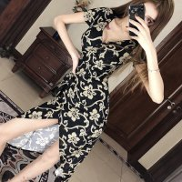 【春分フェア☆第2弾】アラベスク調のオリエンタルフラワーがエキゾチックなドレス(SEXYDRESS)