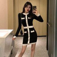 【春分フェア☆第2弾】コンサバスタイルを取り入れたセパレート風ドレス(SEXYDRESS)