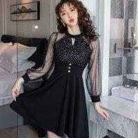 【春分フェア☆第2弾】スパンコールとラメで光を集めるドレス(SEXYDRESS)