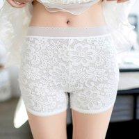 【歳末SALE☆全品10%OFF】ほんのり透け感が色っぽいショートパンツ(PANTS) ホワイト